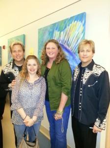 Gunnar, Lee Ann, me, and Matthew